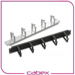 Ager 2U 19'' kablo düzenleme paneli 5 metal kancalı