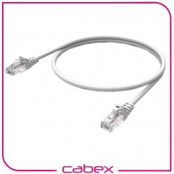 Cat6 Whıte / Beyaz Patch Cord 1 Mt