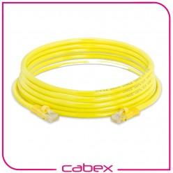 Cat6 Yellow / Sarı Patch Cord 5 Mt