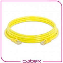 Cat6 Yellow / Sarı Patch Cord 3 Mt