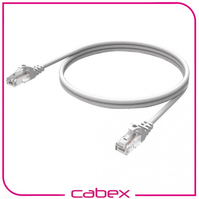 Cat6 Whıte/ Beyaz Patch Cord 2 Mt