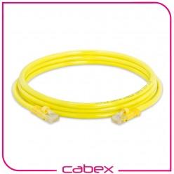Cat6 Yellow / Sarı Patch Cord 2 Mt