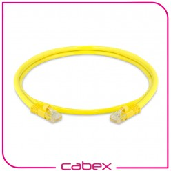 Cat6 Yellow / Sarı Patch Cord 1 Mt