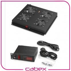 4 lü Fan Modülü Dijital Termostat switch Dikili tip