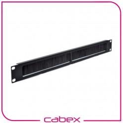 Ager 1/2U 10'' Kablo Düzenleme Paneli Fırçalı, patchcord girişine uygun