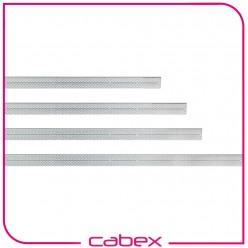 Ager 12U Kablo Kanalı çinko kaplamalı W=100mm