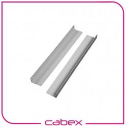 L destek D=800mm kabinetler için, Çinko Kaplamalı 8-12 micron