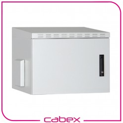 16U 19'' SAFEbox IP55 Harici Ortam ( Outdoor) Duvar Tipi Kabinet W=600mm D=450mm